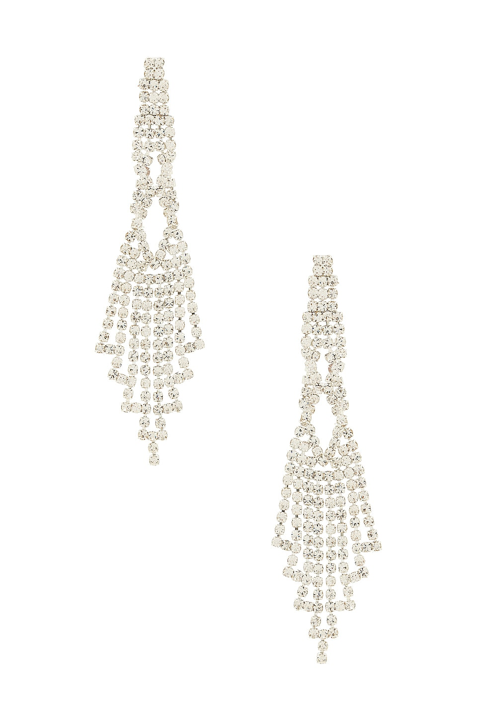 8 Other Reasons Chandelier Earring in Silver