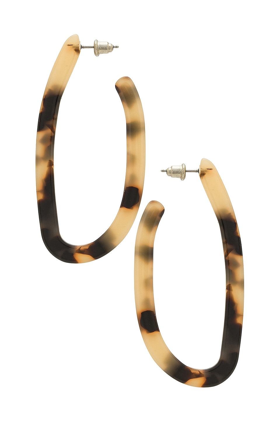 8 Other Reasons Sevi Hoop Earrings in Brown