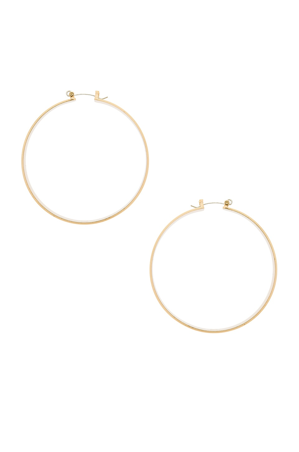 8 Other Reasons Robin Hoop Earrings in Gold