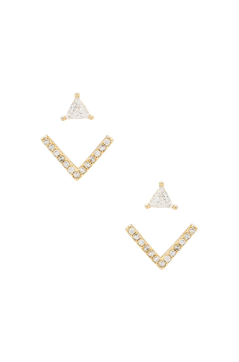 8 Other Reasons Venice Earcuff Earring in Gold