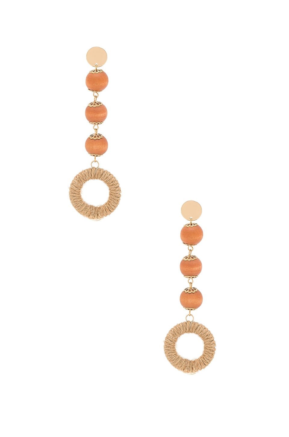 8 OTHER REASONS BRAIDED DUSTER EARRING