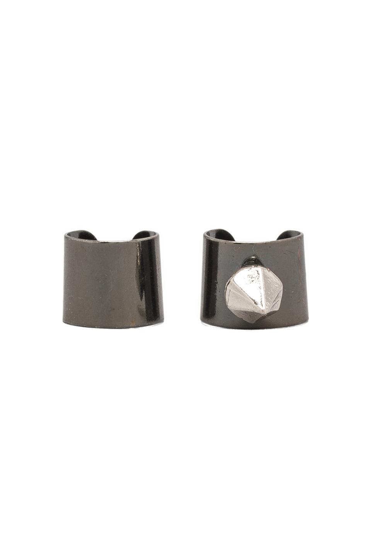 8 Other Reasons Halo Ear Cuffs in Rhodium/Silver