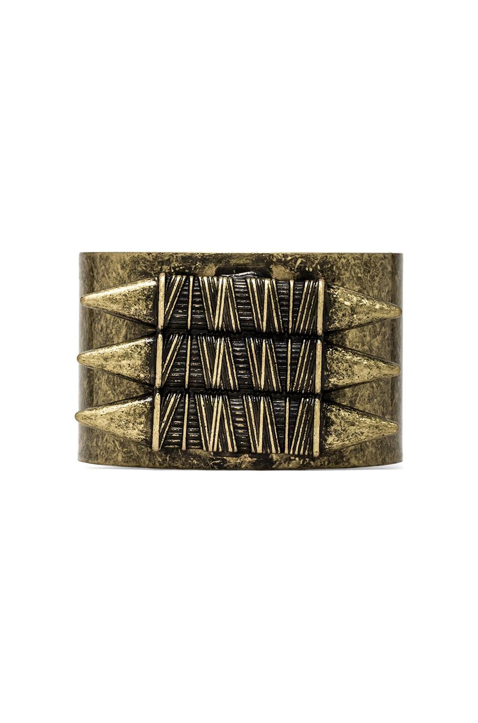 8 Other Reasons Survivor Cuff in Antique Gold