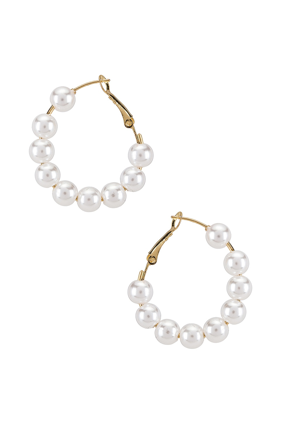 8 Other Reasons Daisy Hoops in Gold