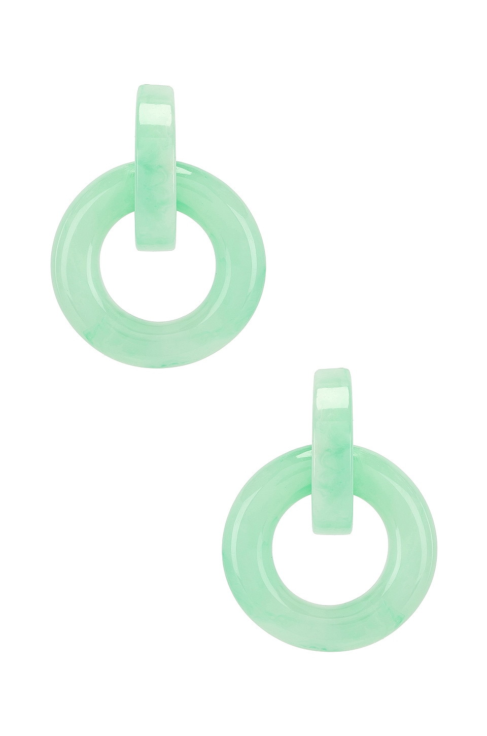 8 Other Reasons Hanna Earrings in Mint