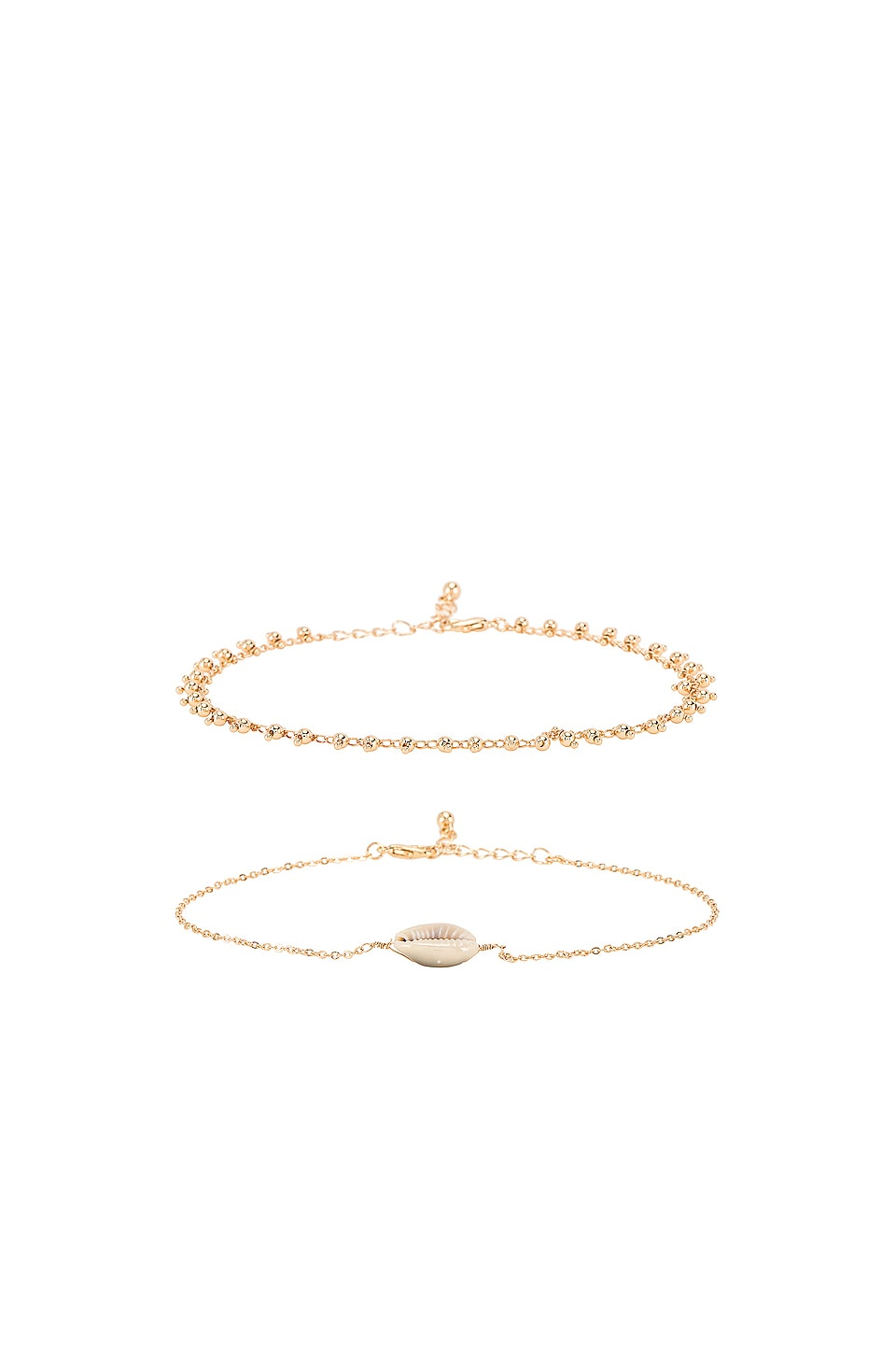 8 Other Reasons Pacific Coast Anklet in Gold