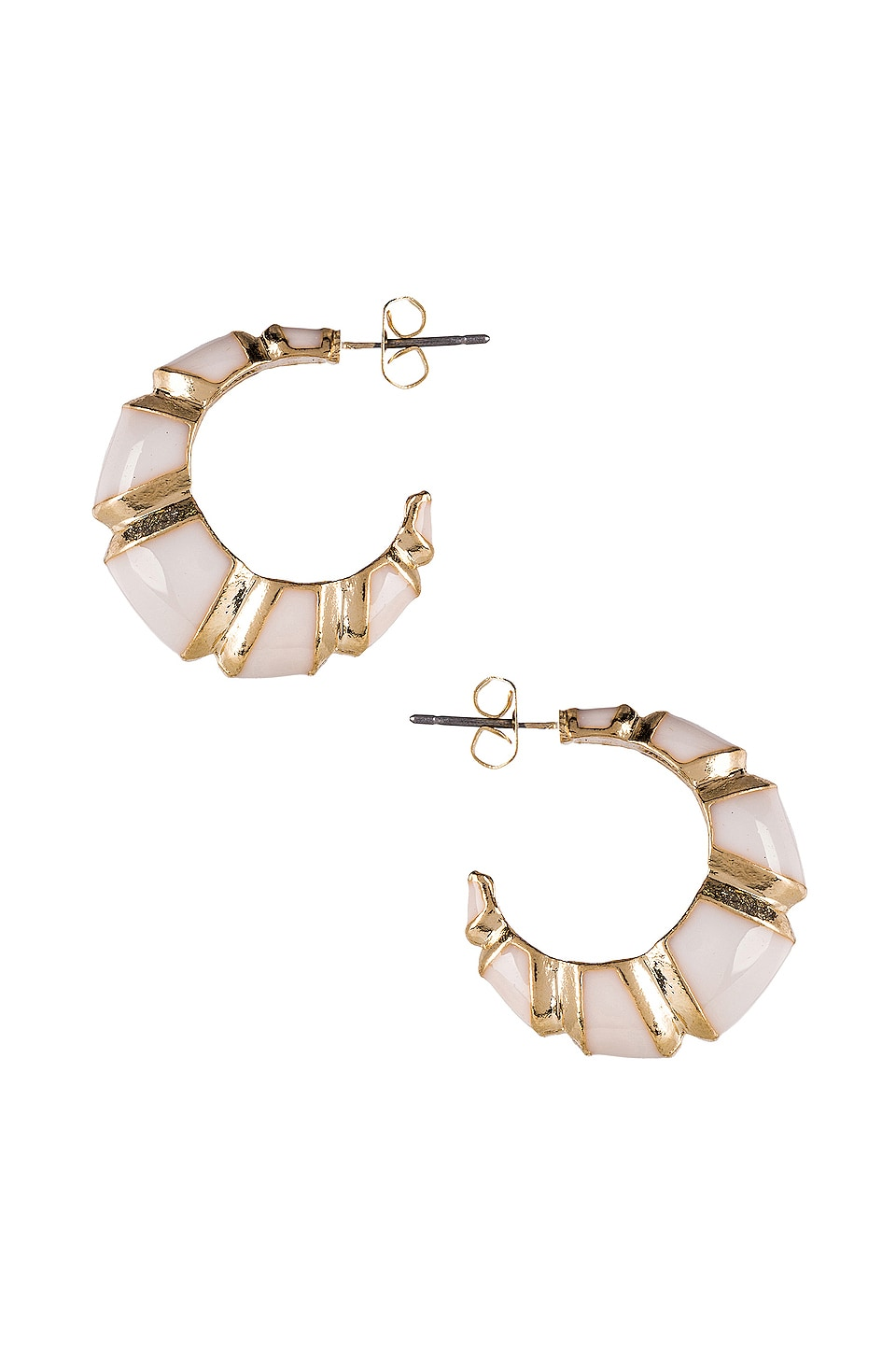 8 Other Reasons Leona Hoops in White