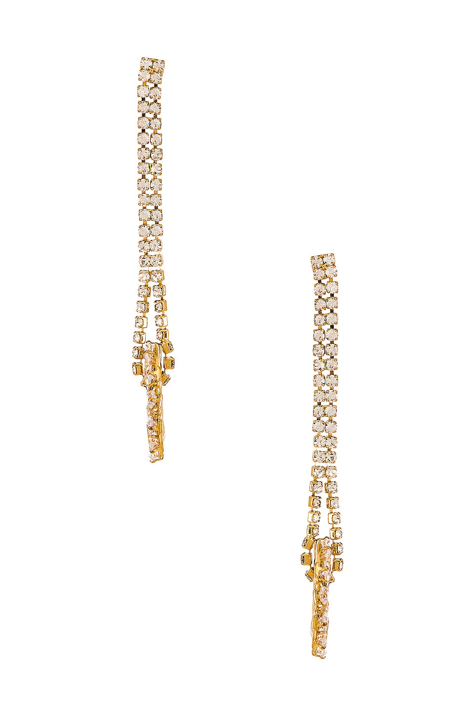 8 Other Reasons Bright Future Earrings in Gold