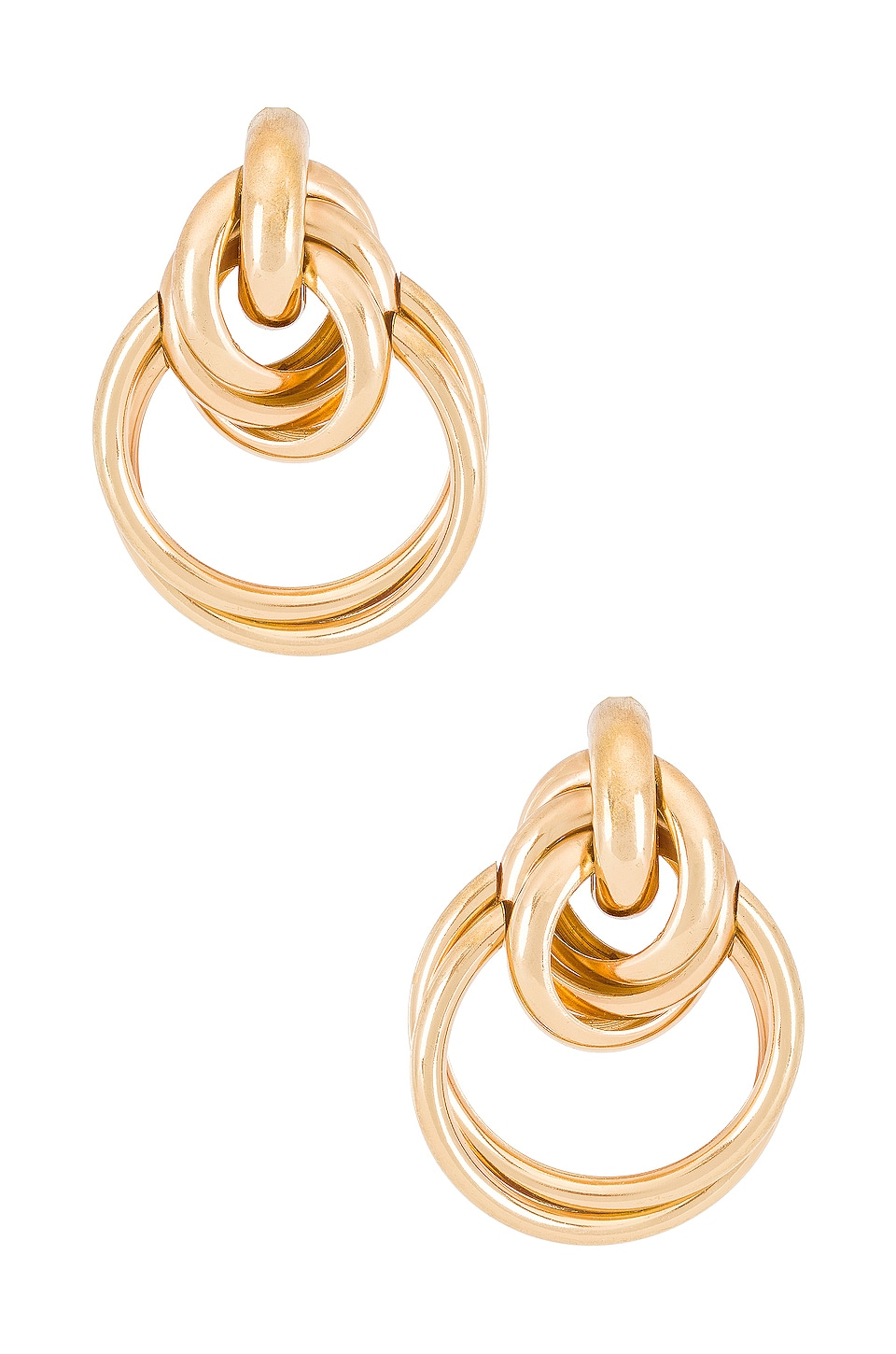 8 Other Reasons Twin Hoops in Gold