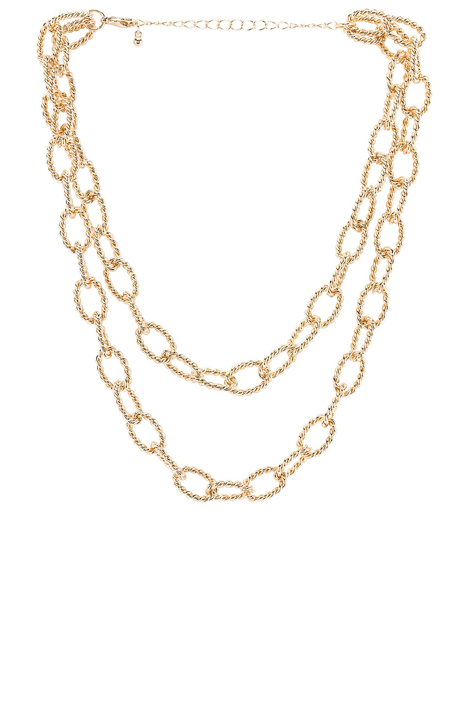 8 Other Reasons Saylor Chain Necklace im Gold