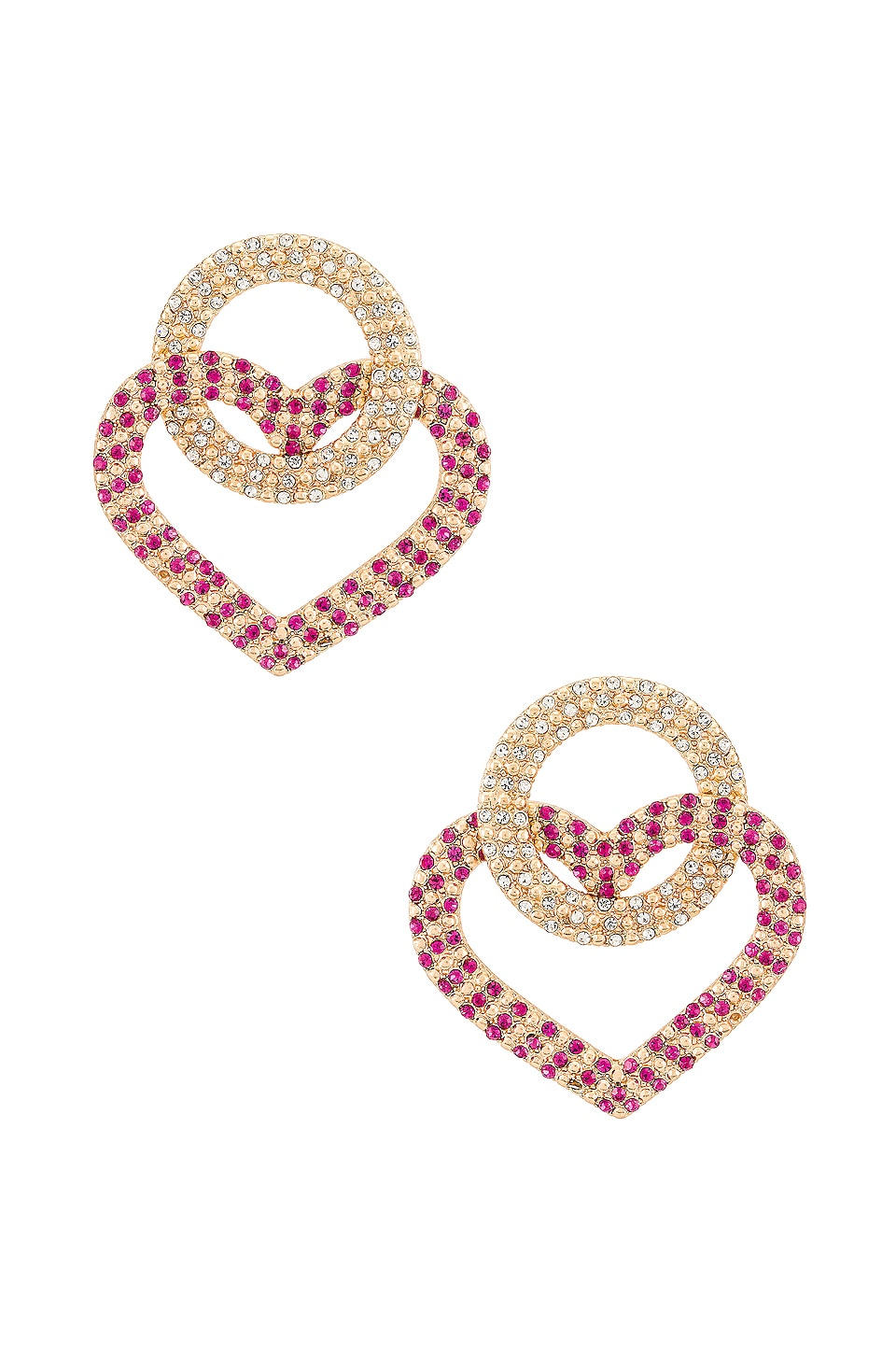 8 Other Reasons TLC Earrings in Fuchsia