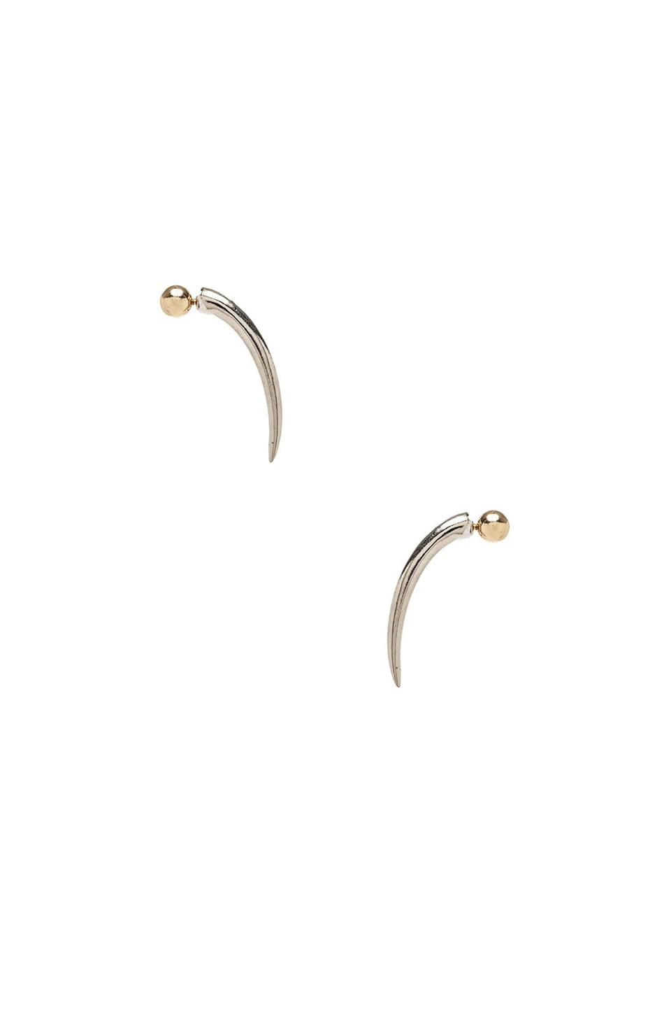 8 Other Reasons Babetown Earring in Rhodium & Gold