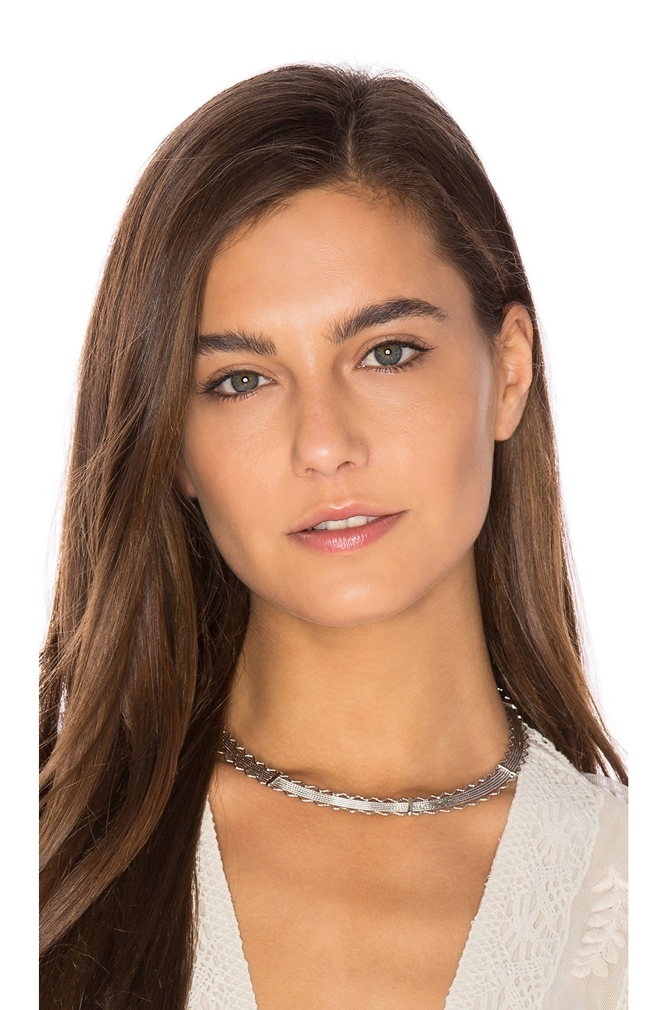 8 Other Reasons Nomad Choker in Silver