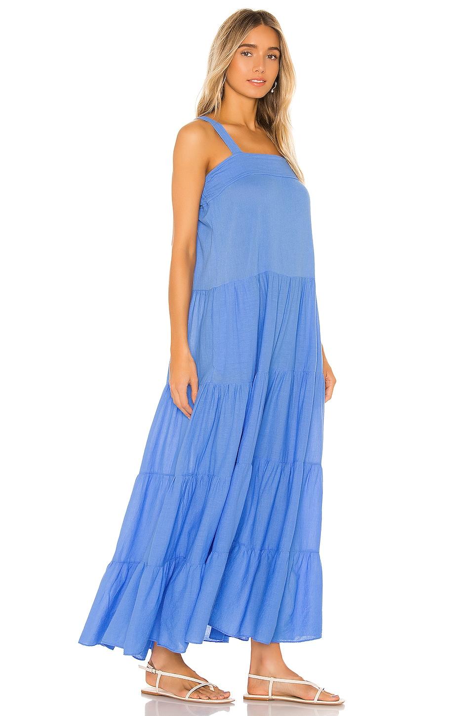 Sayulita Tier Maxi Dress, view 2, click to view large image.