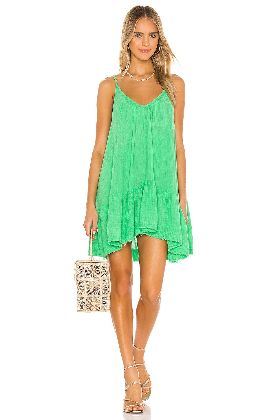 St Tropez Ruffle Mini Dress             9 Seed                                                                                                       CA$ 209.51 2