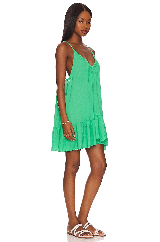 St Tropez Ruffle Mini Dress, view 2, click to view large image.