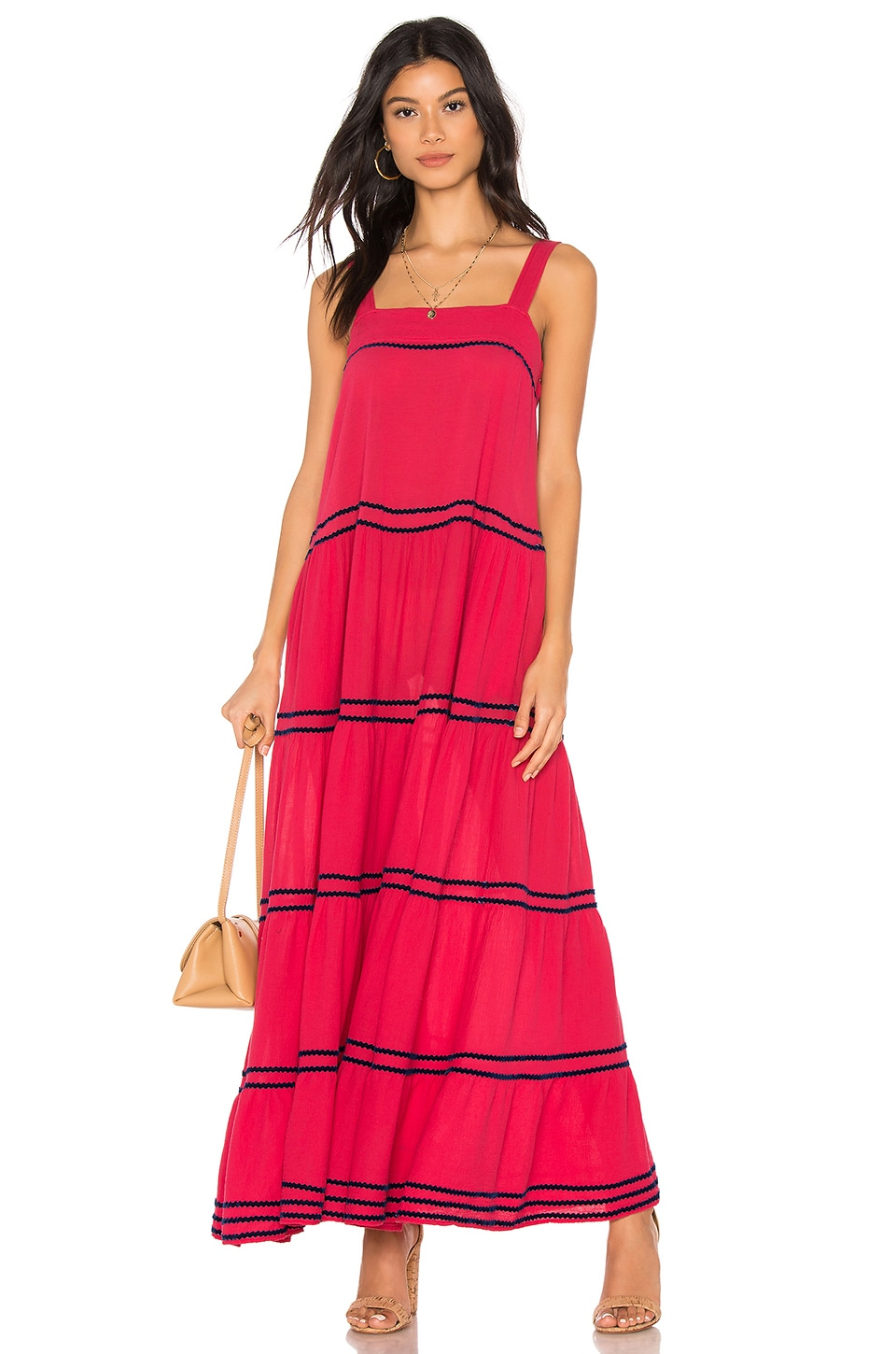 Sayulita Tier Maxi Dress