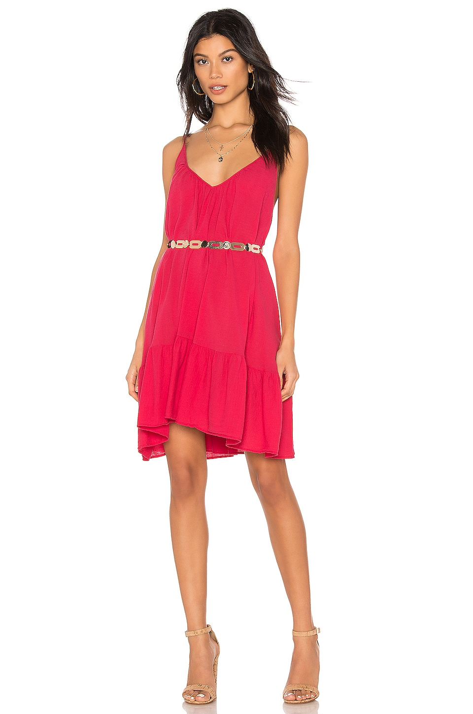 St Tropez Ruffle Mini Dress
