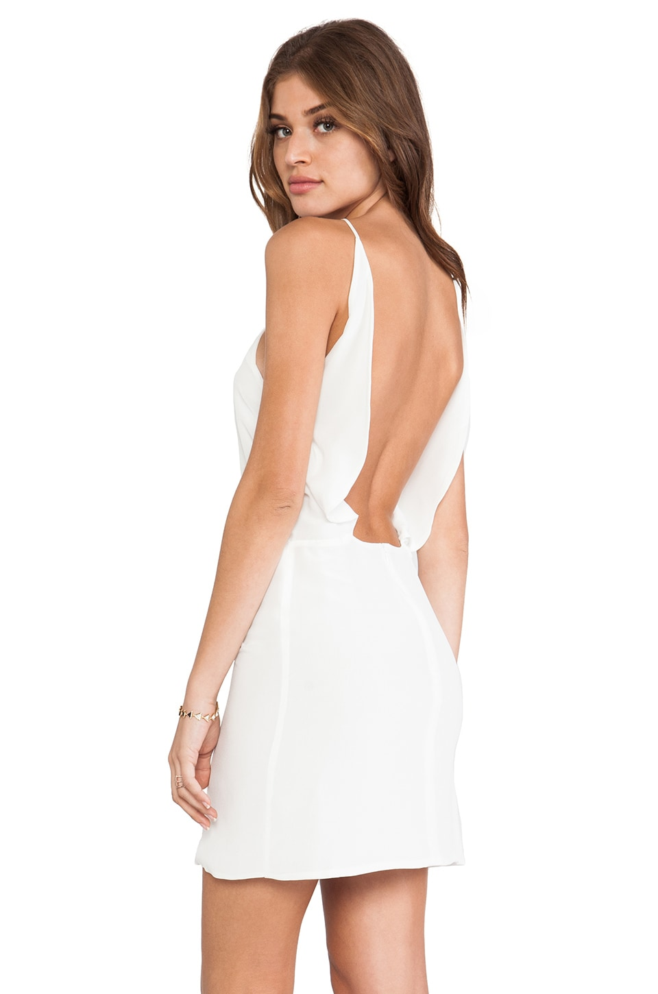 Assali Paola Dress in White
