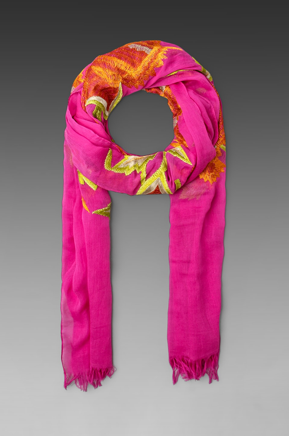 Antik Batik Driss Scarf in Pink