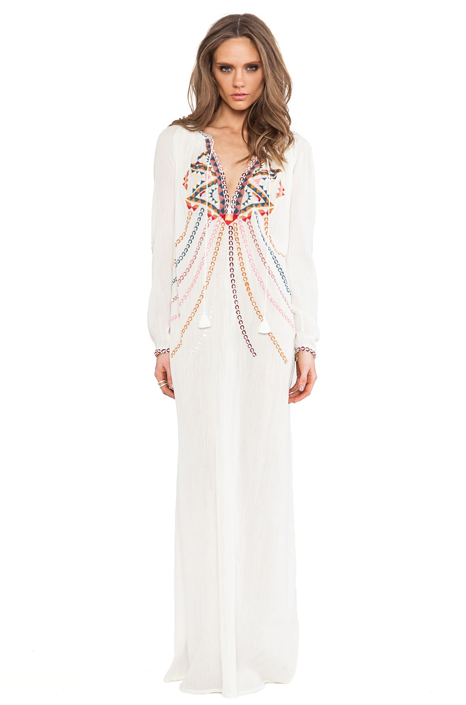 Antik Batik Brian Gown in White