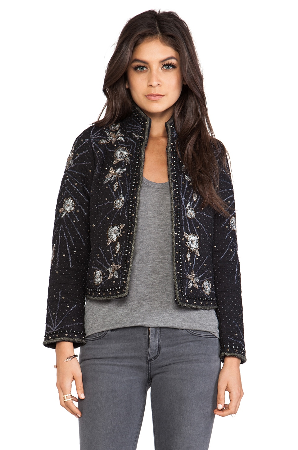 Antik Batik Marani Jacket in Black