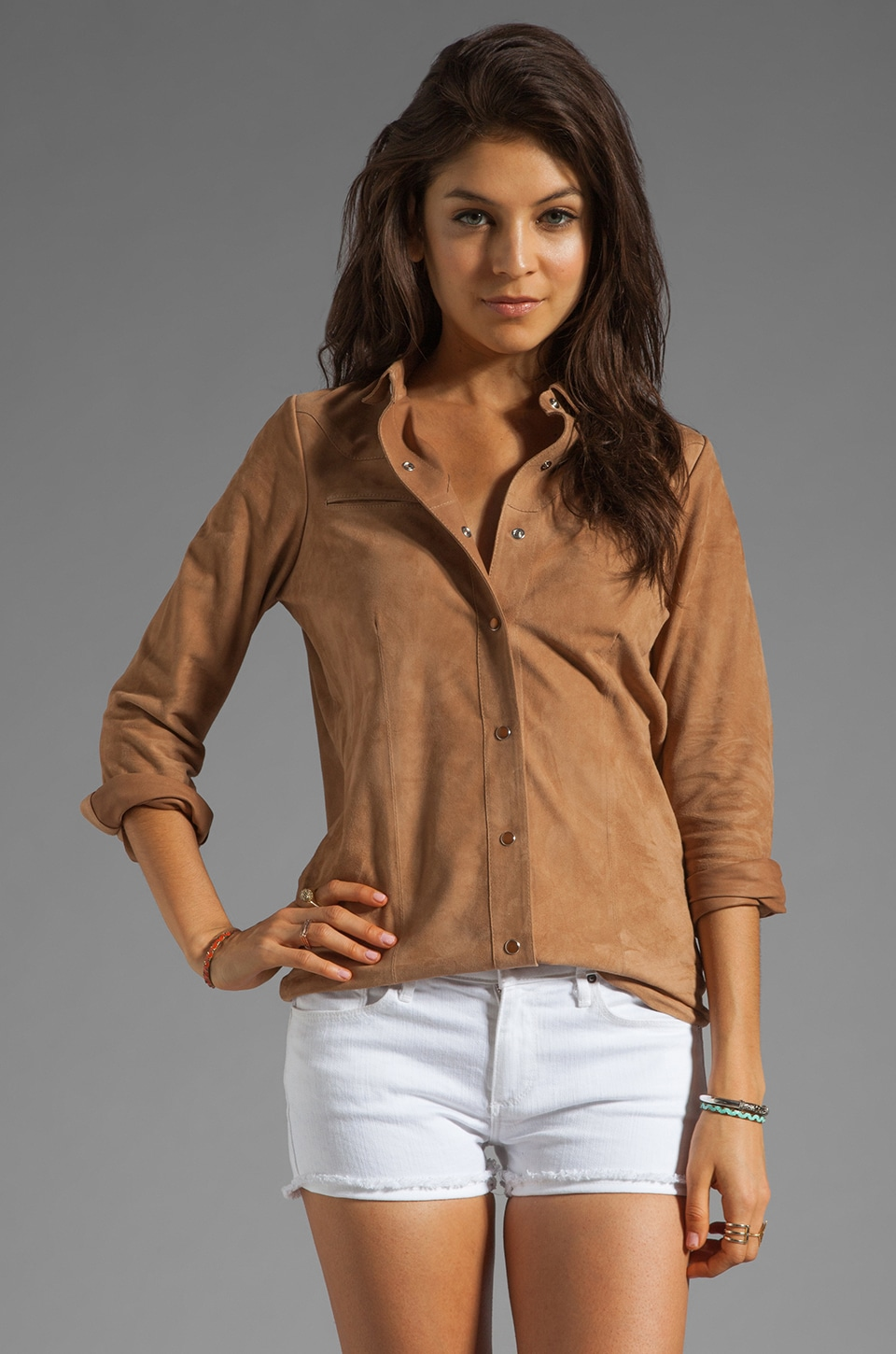Antik Batik Rick Shirt en Naturel