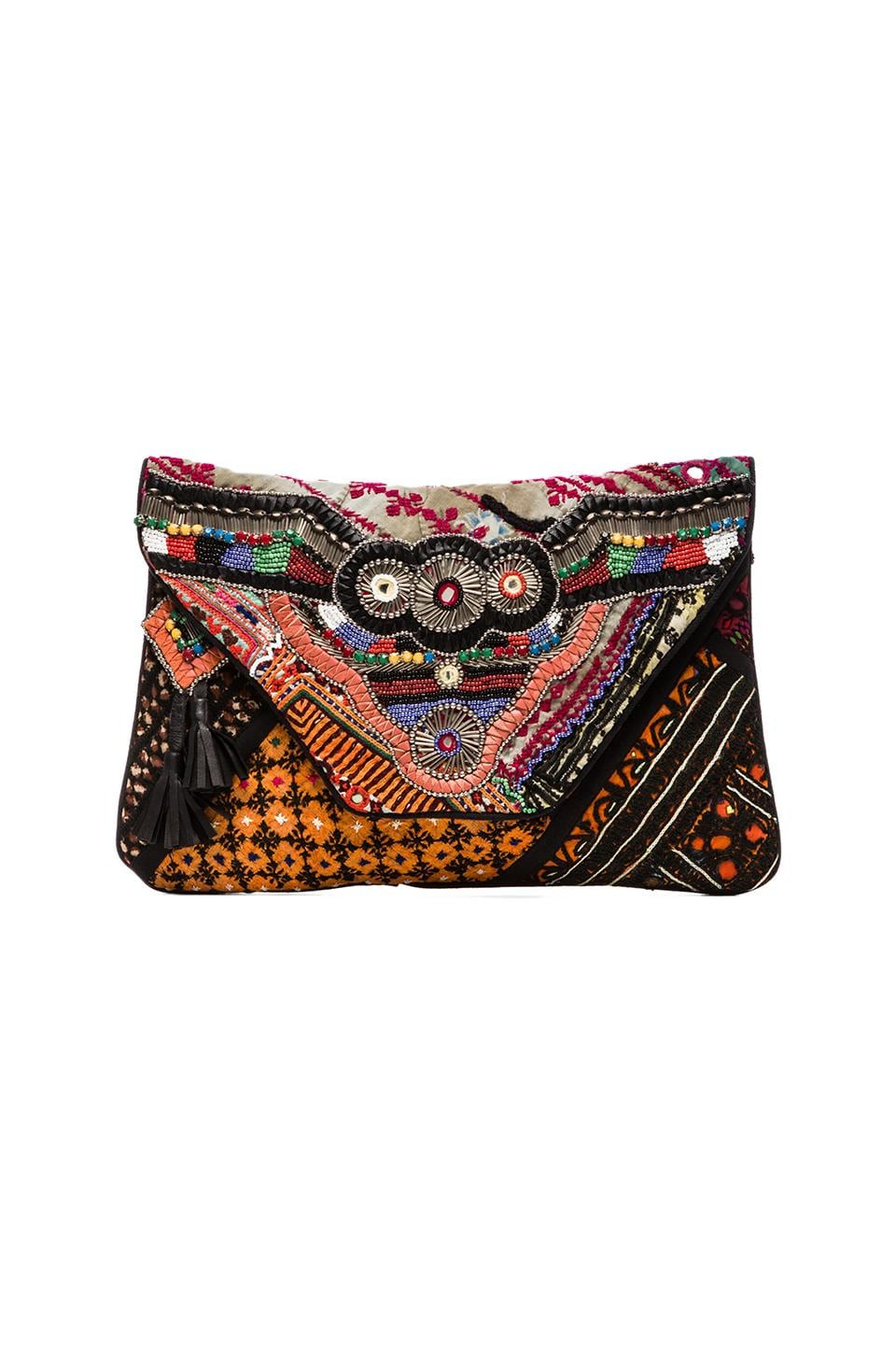 Antik Batik Aeden Clutch in Multi