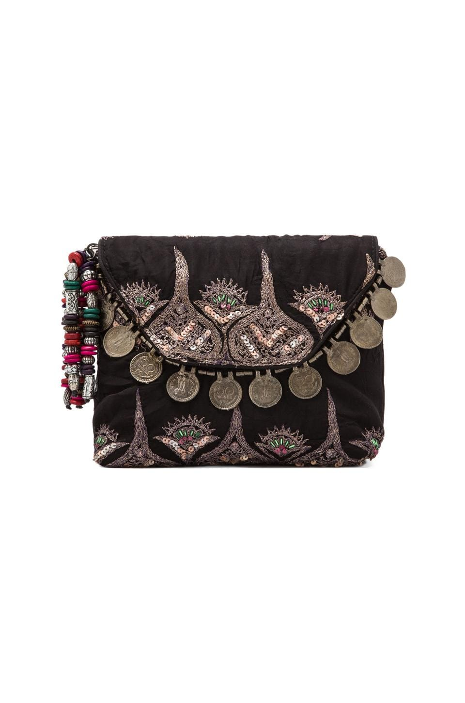 Antik Batik Saro Pouch in Black