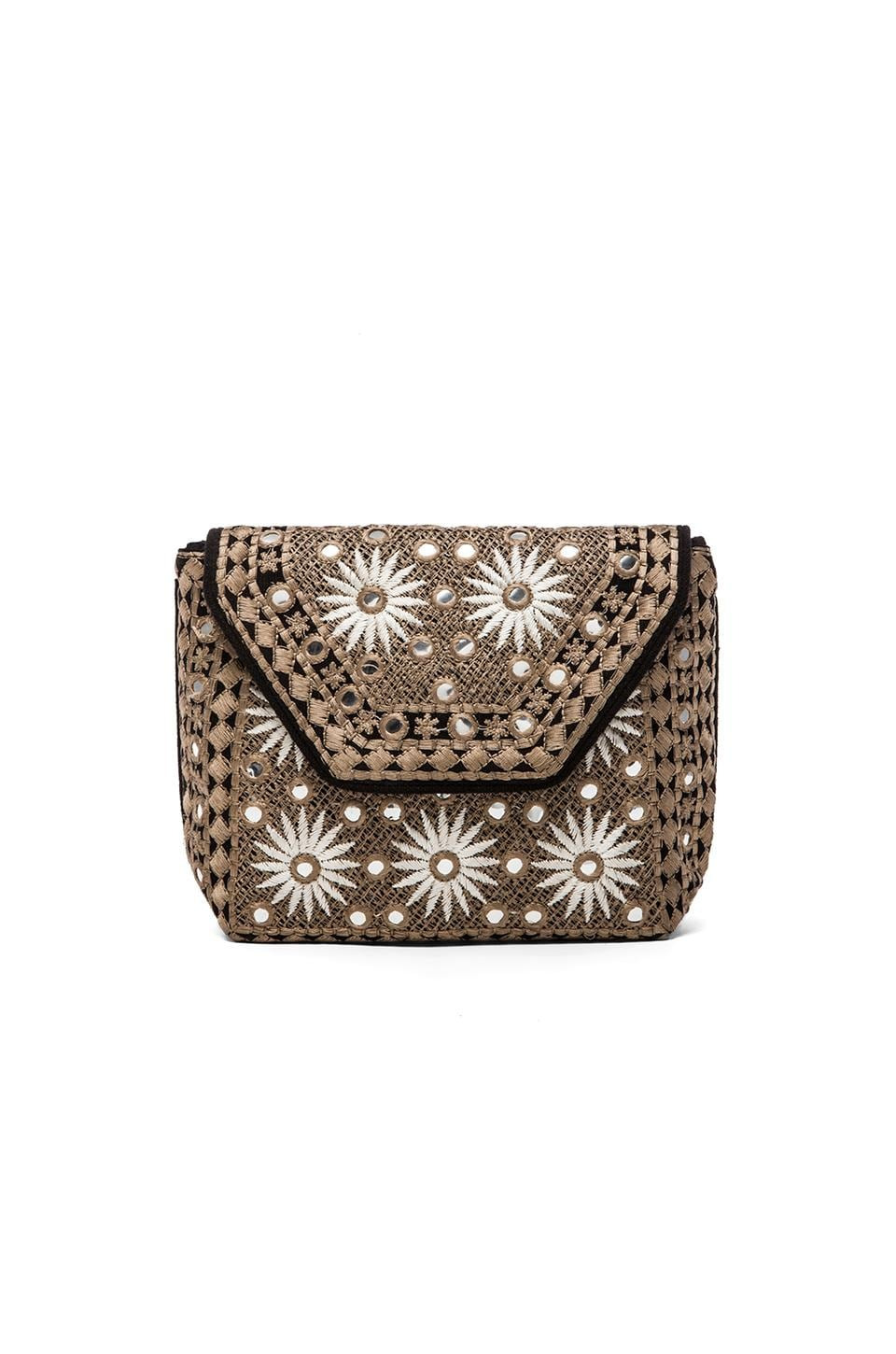 Antik Batik Elise Clutch in Black