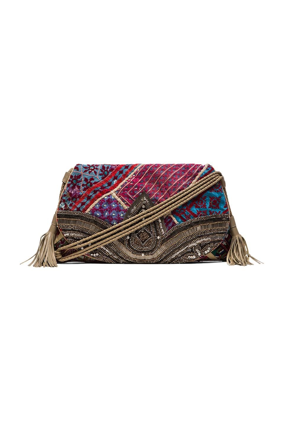 Antik Batik Jango Clutch in Multi