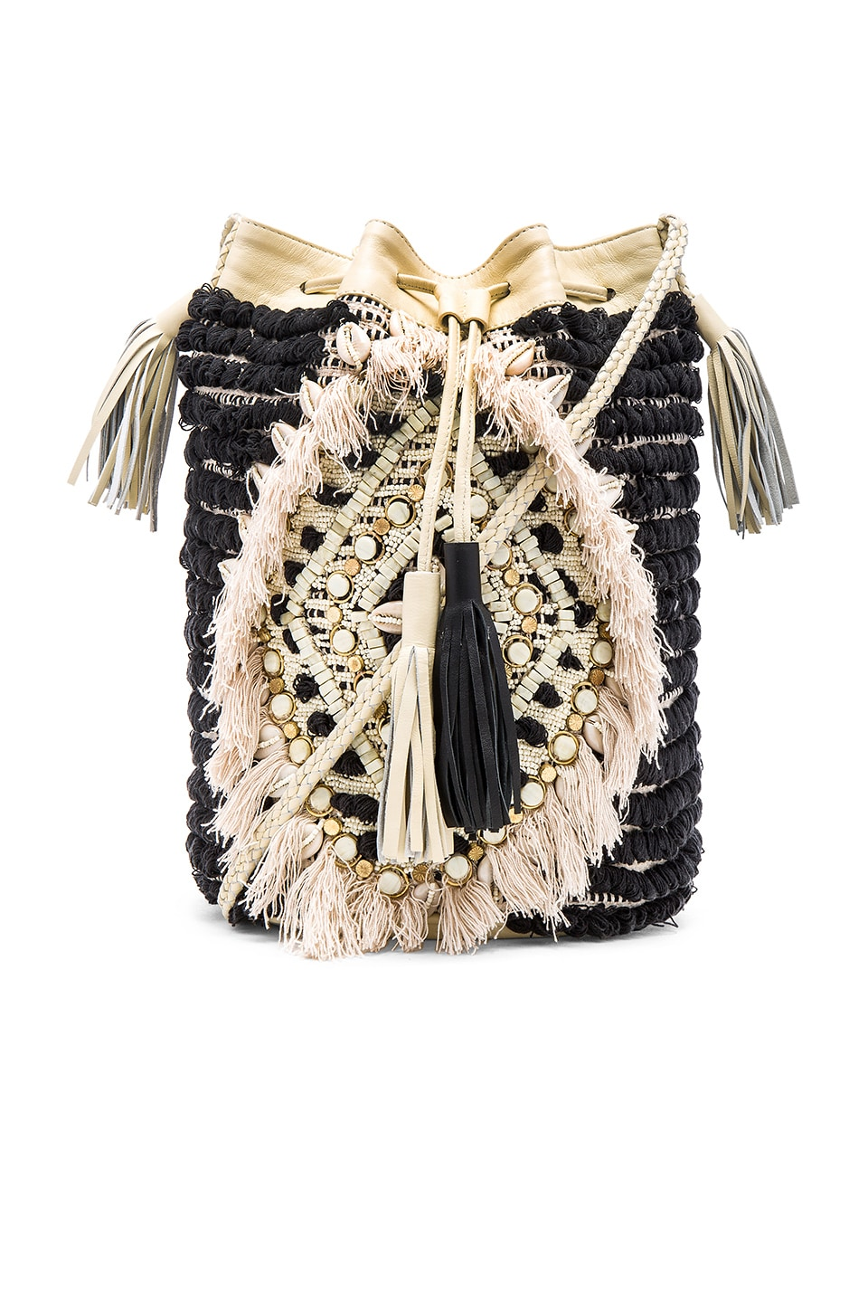 Antik Batik Jesa Bucket Bag in Black
