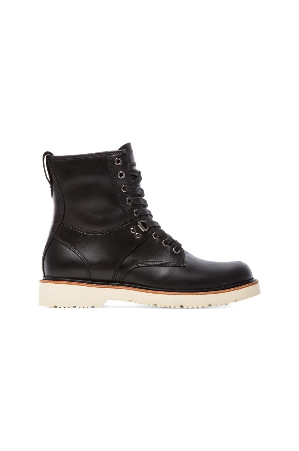 Abington Quarryville Tall Boot in Black Quartz
