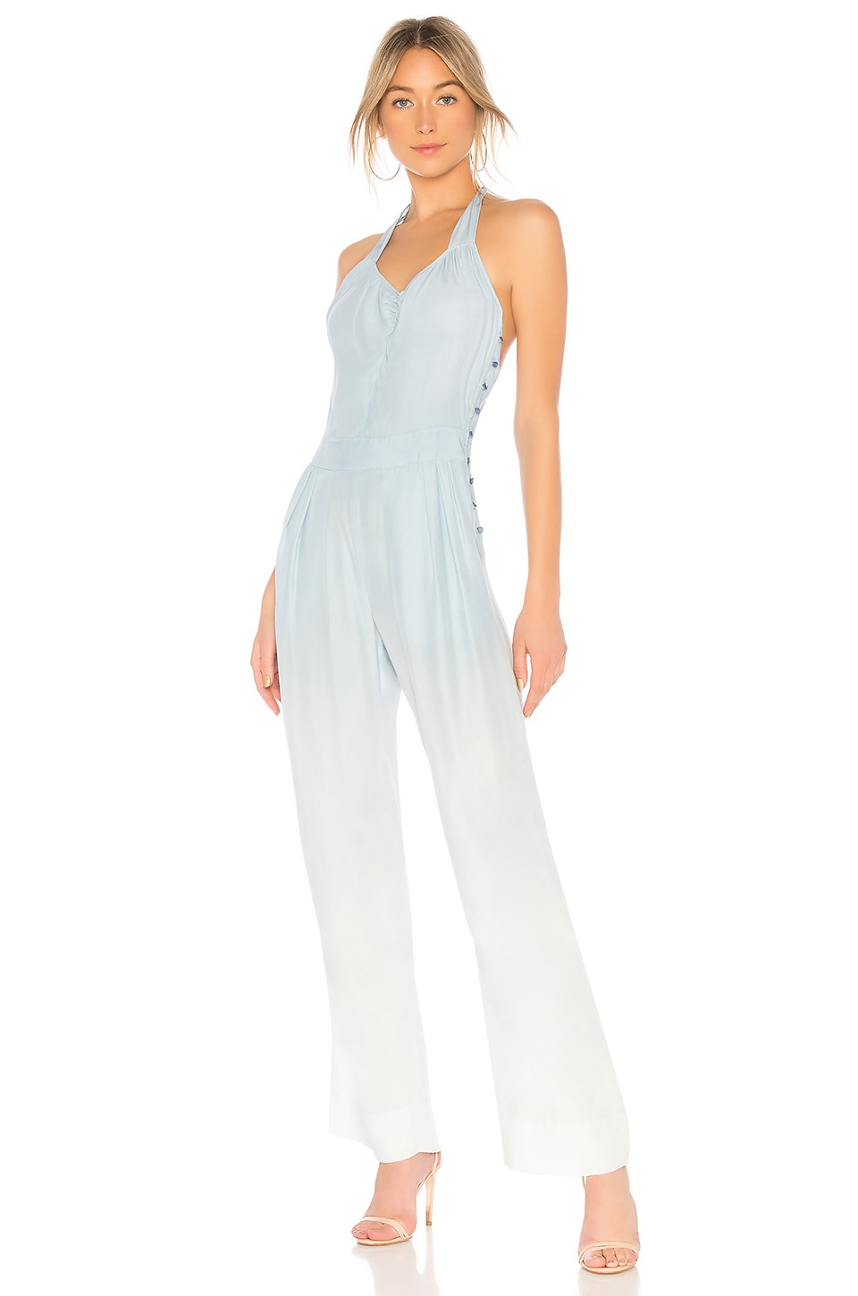 AMANDA BOND Joni Jumpsuit in Baby Blue