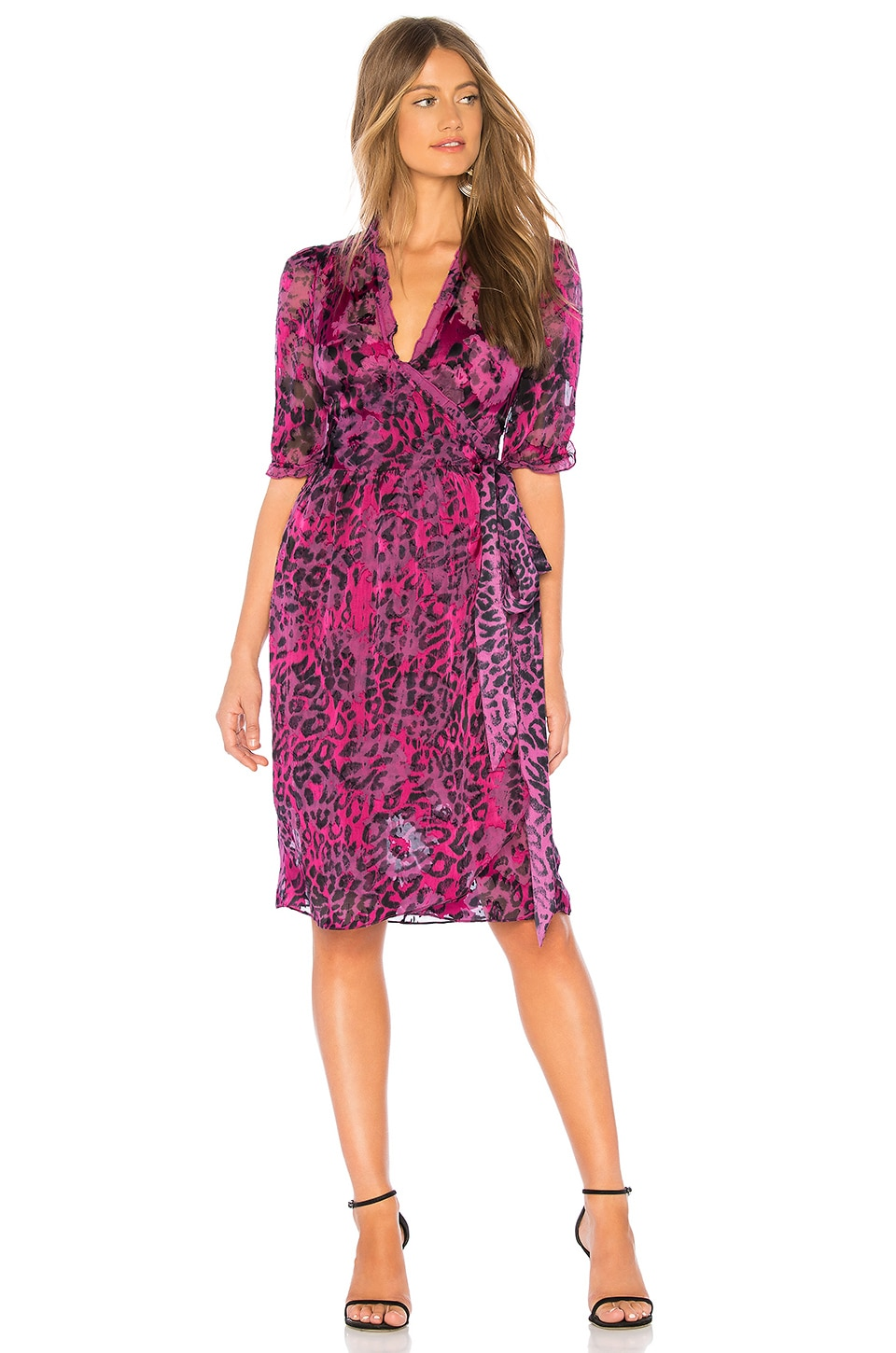 AMANDA BOND Anya Dress in Fuchsia