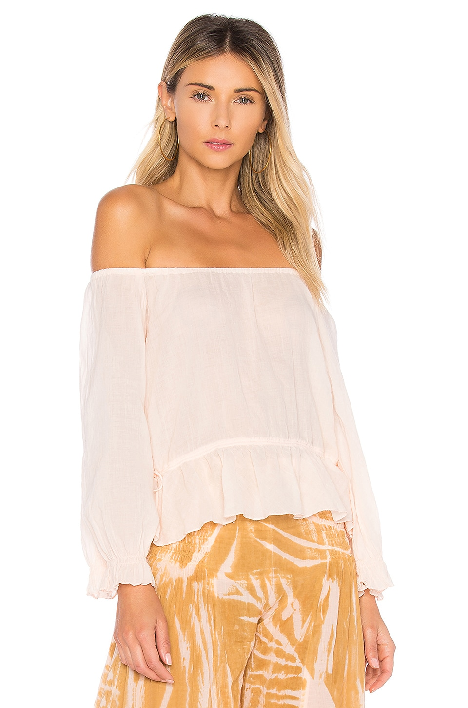 AMANDA BOND Mina Top in Peach