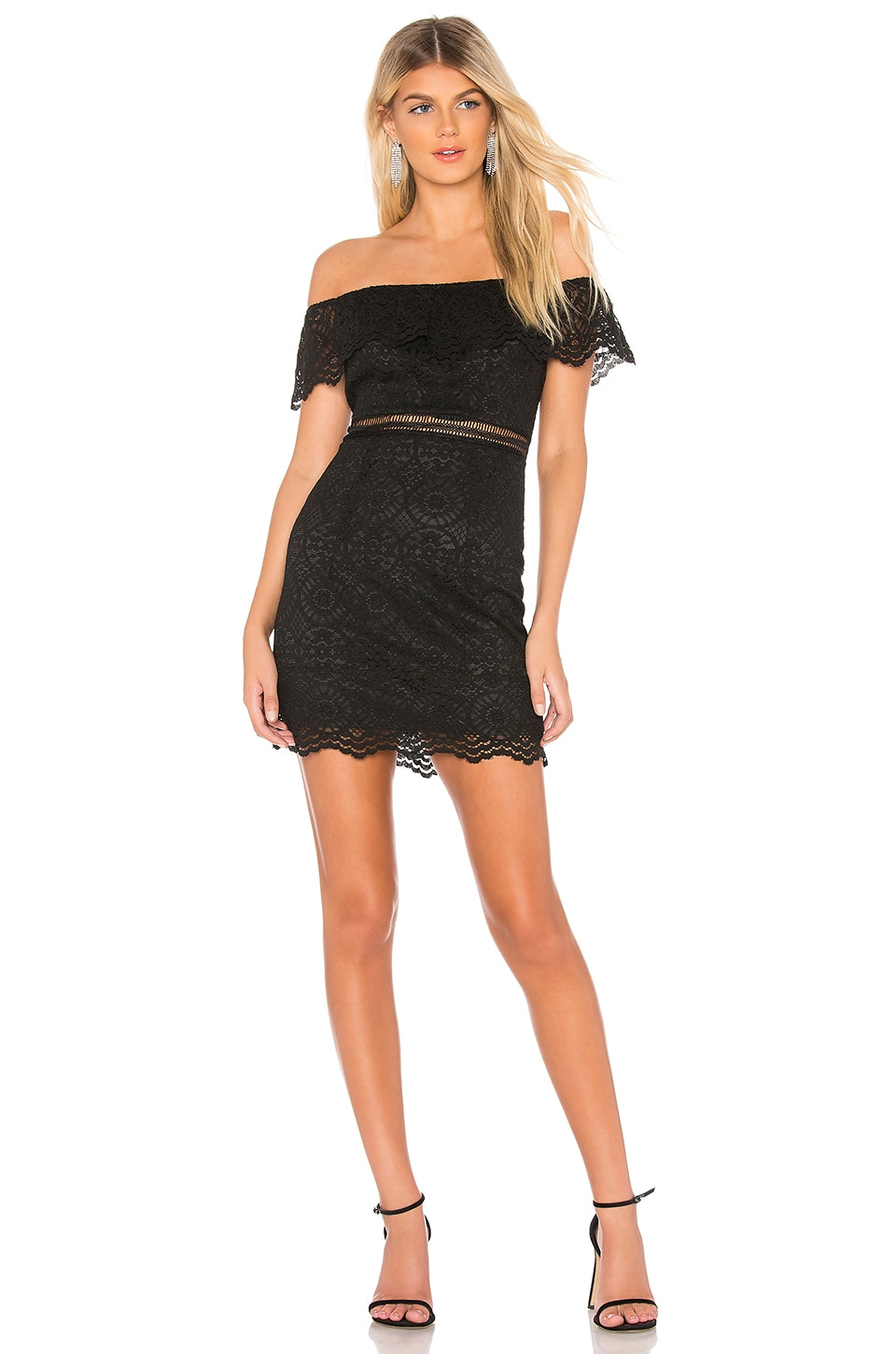 About Us Nellie Dress in Black