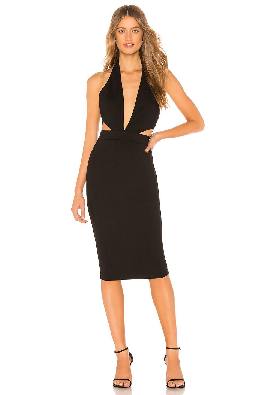 About Us Eden Midi Dress in Black