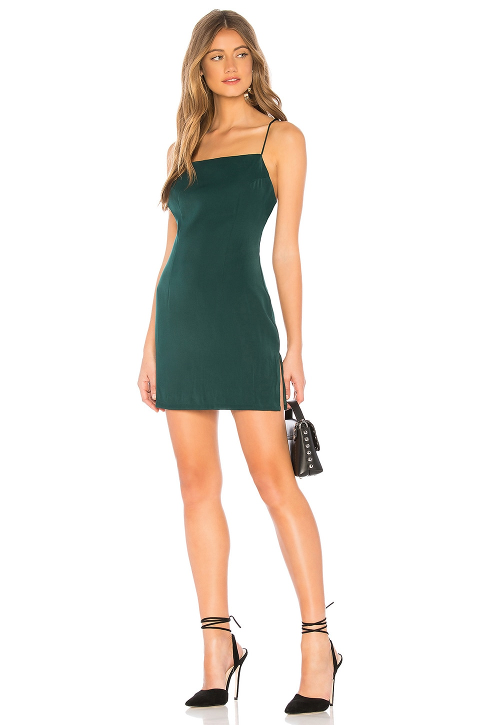 855c065a38534 About Us Rita Mini Dress in Forest Green | REVOLVE
