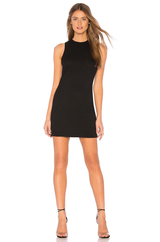About Us Linda Mini Dress in Black