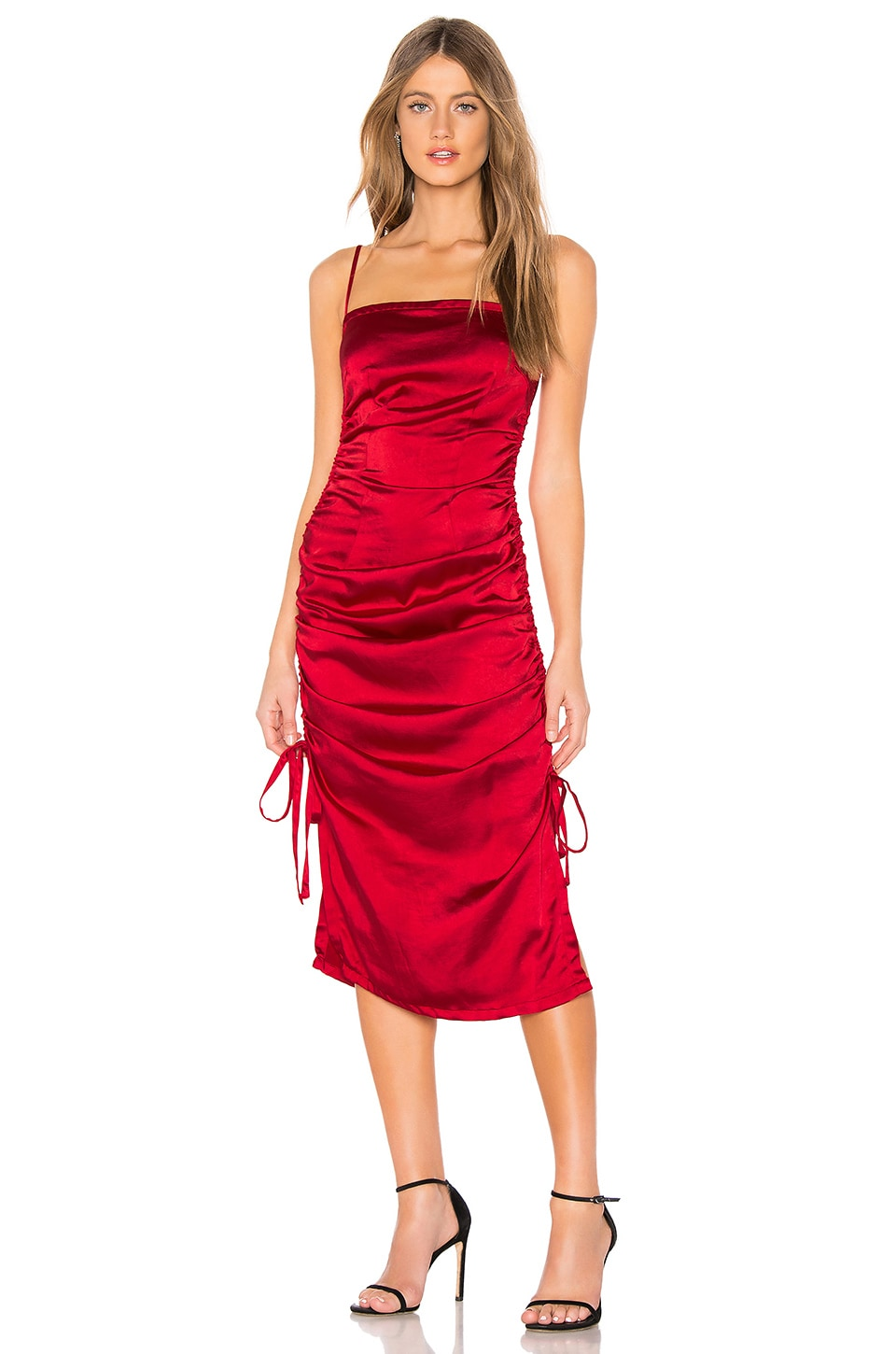 About Us Ariel Maxi Dress in Red