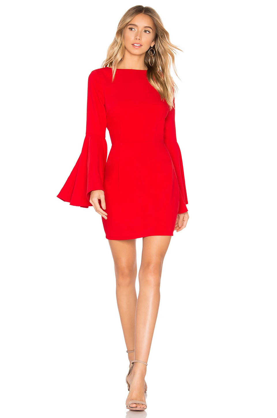About Us Tasha Mini Dress in Red