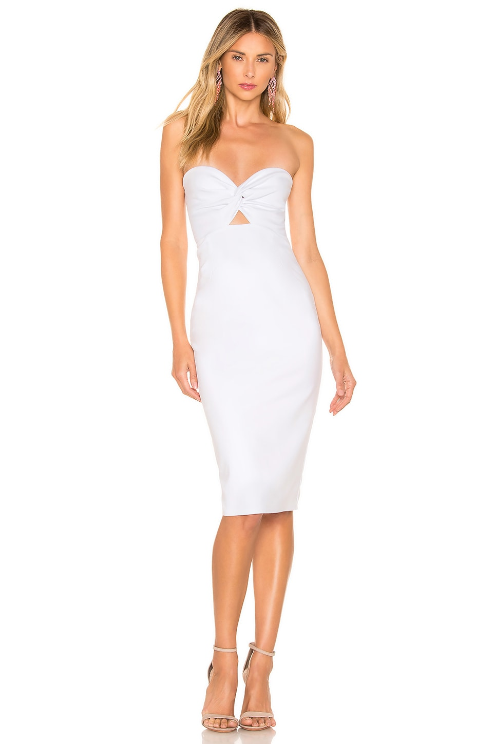 About Us Tamara Midi Dress in White