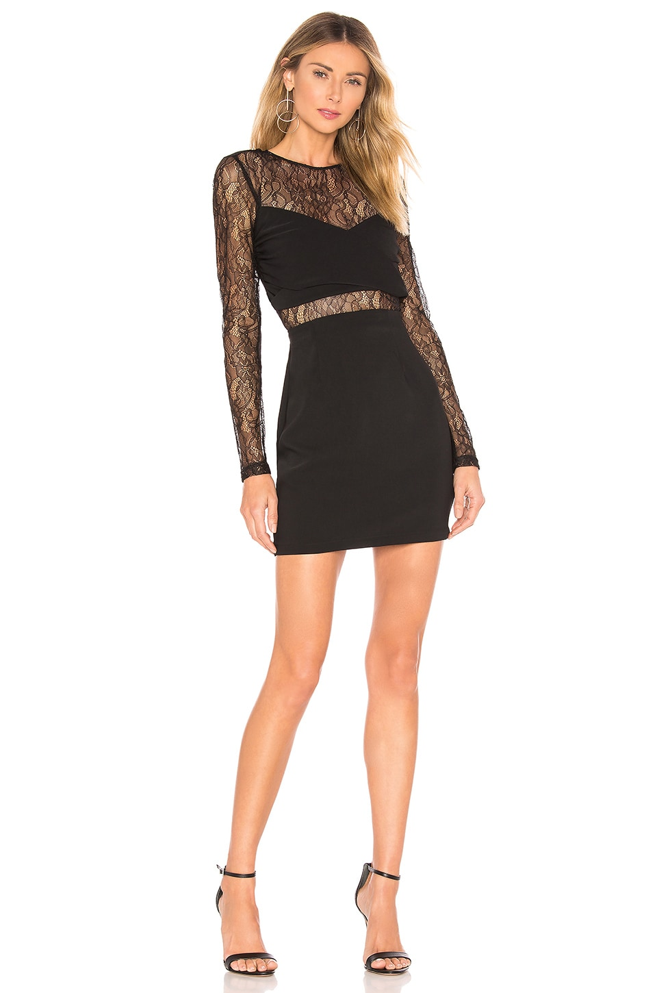 About Us Mady Dress in Black