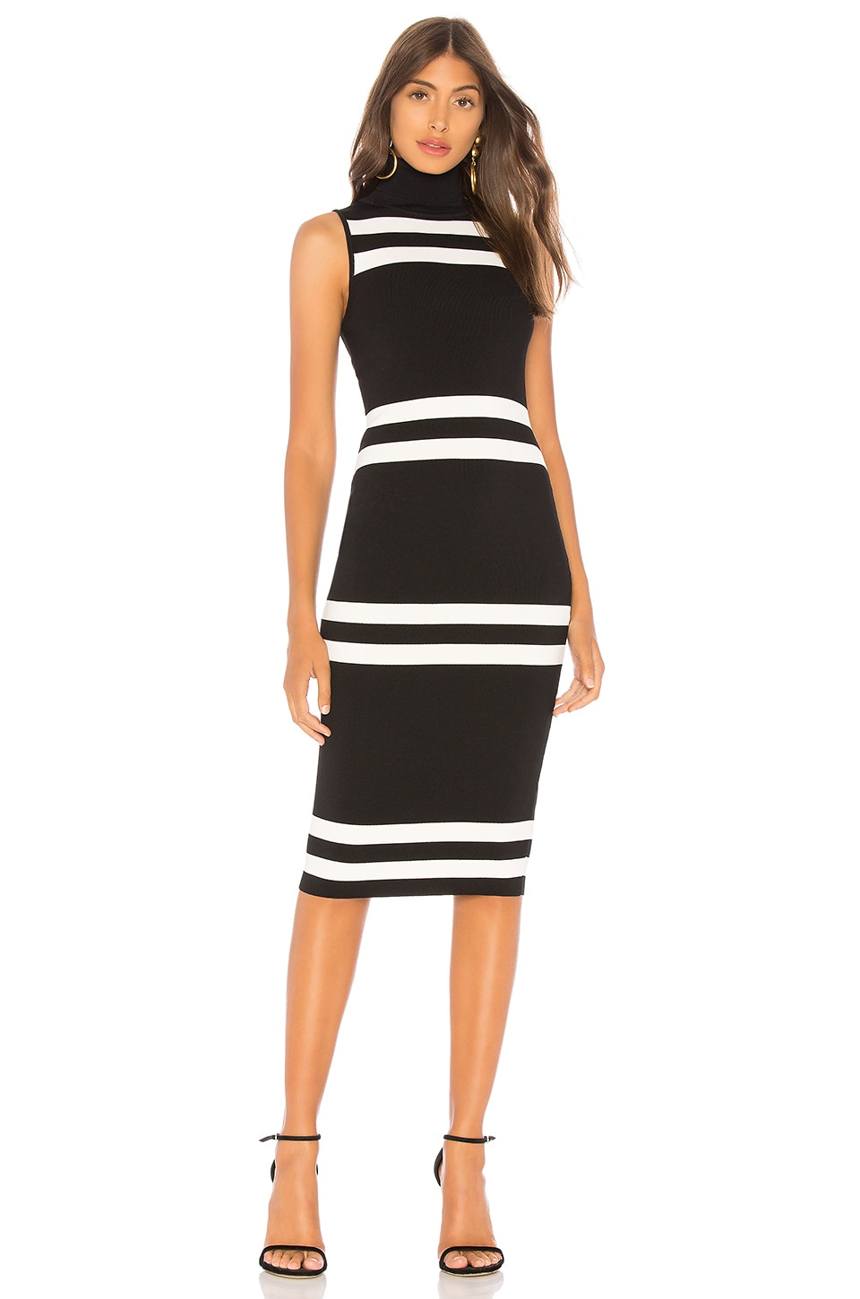About Us Fiona Bodycon in Black & White