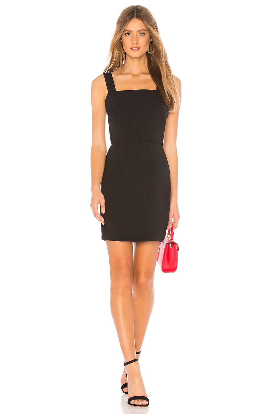 About Us Sienna Mini Dress in Black