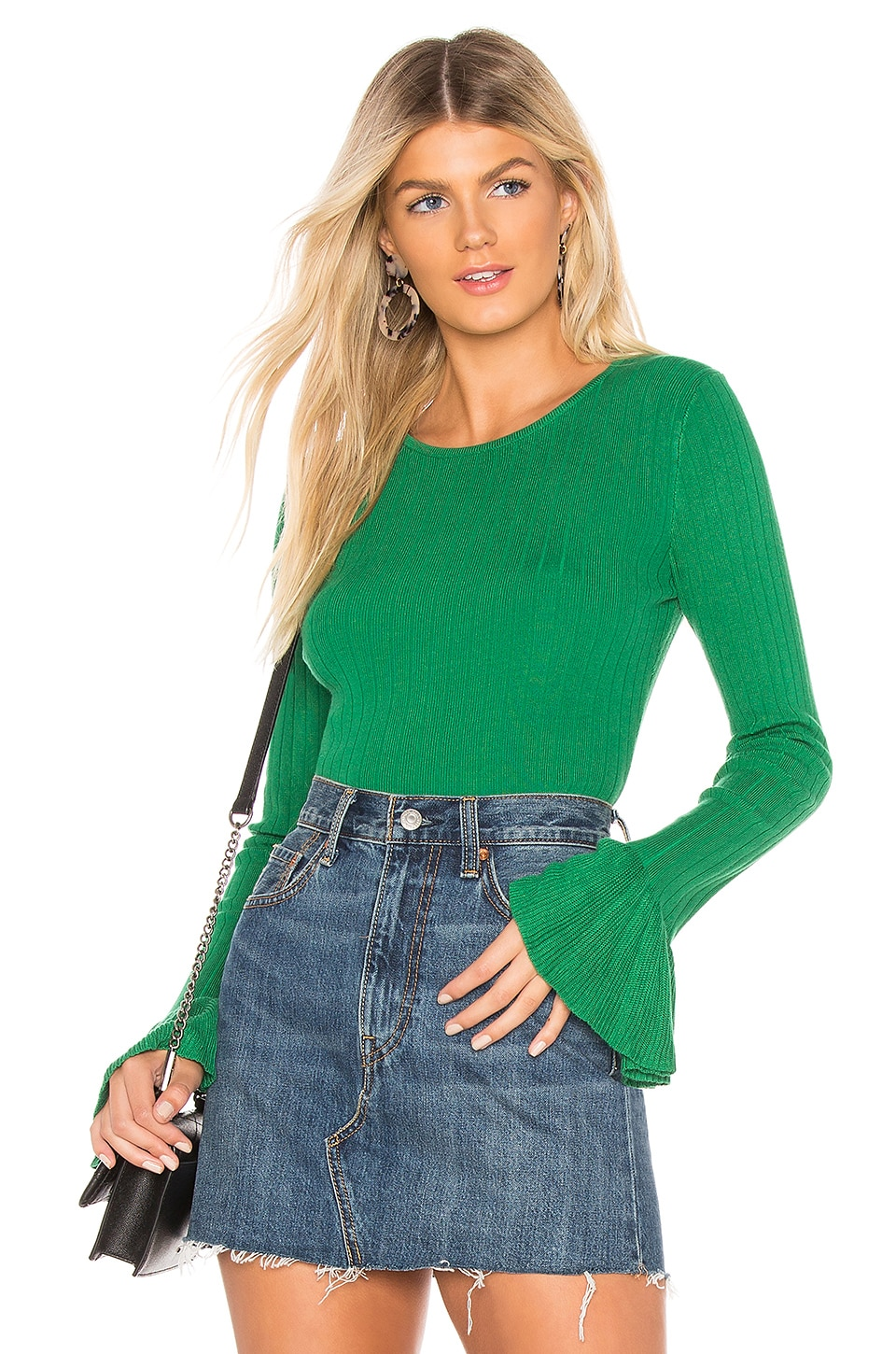 ABOUT US Bea Sweater, Green