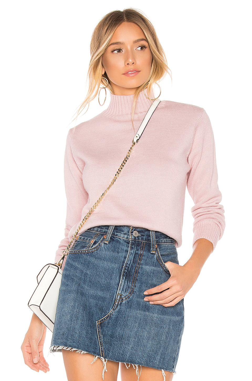 ABOUT US Izzy Sweater, Blush