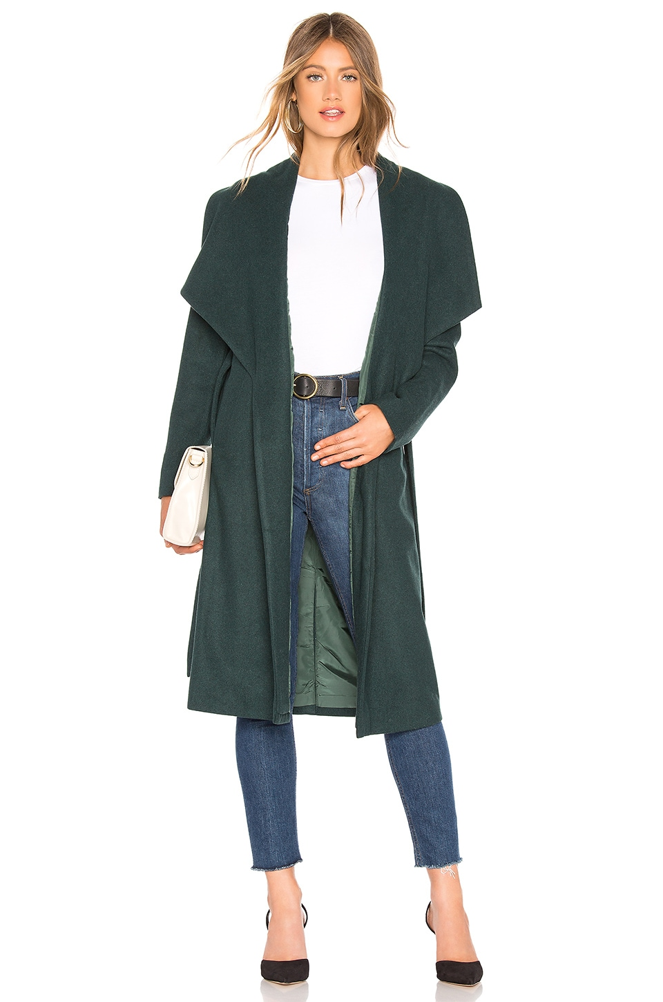 ABOUT US Kelly Coat in Green