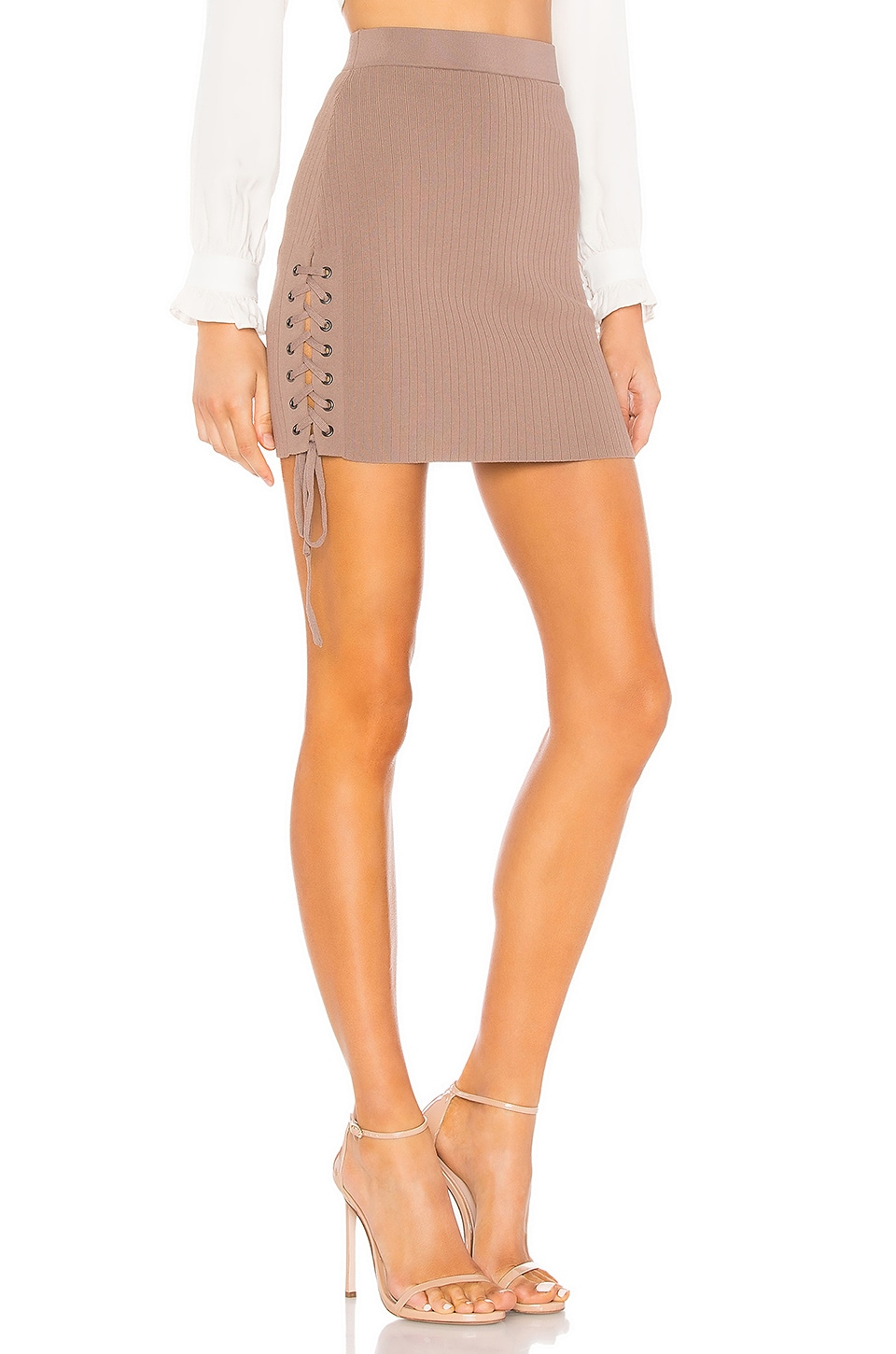 About Us Giana Skirt in Taupe